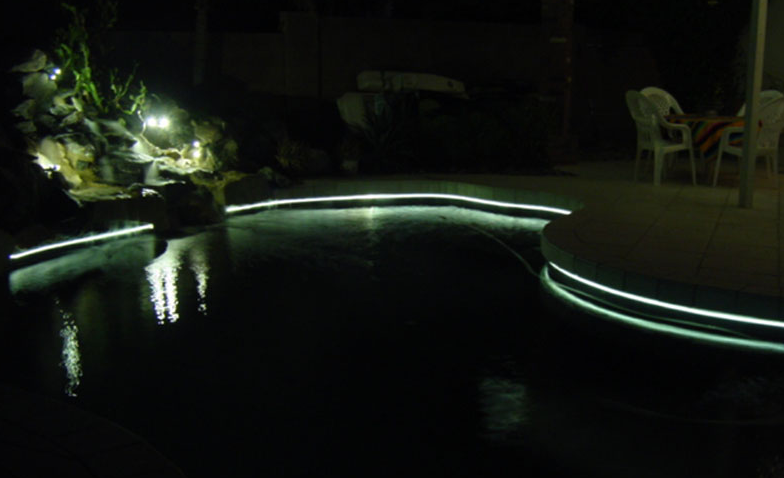 Fiber Optic Pool Lighting Swimming