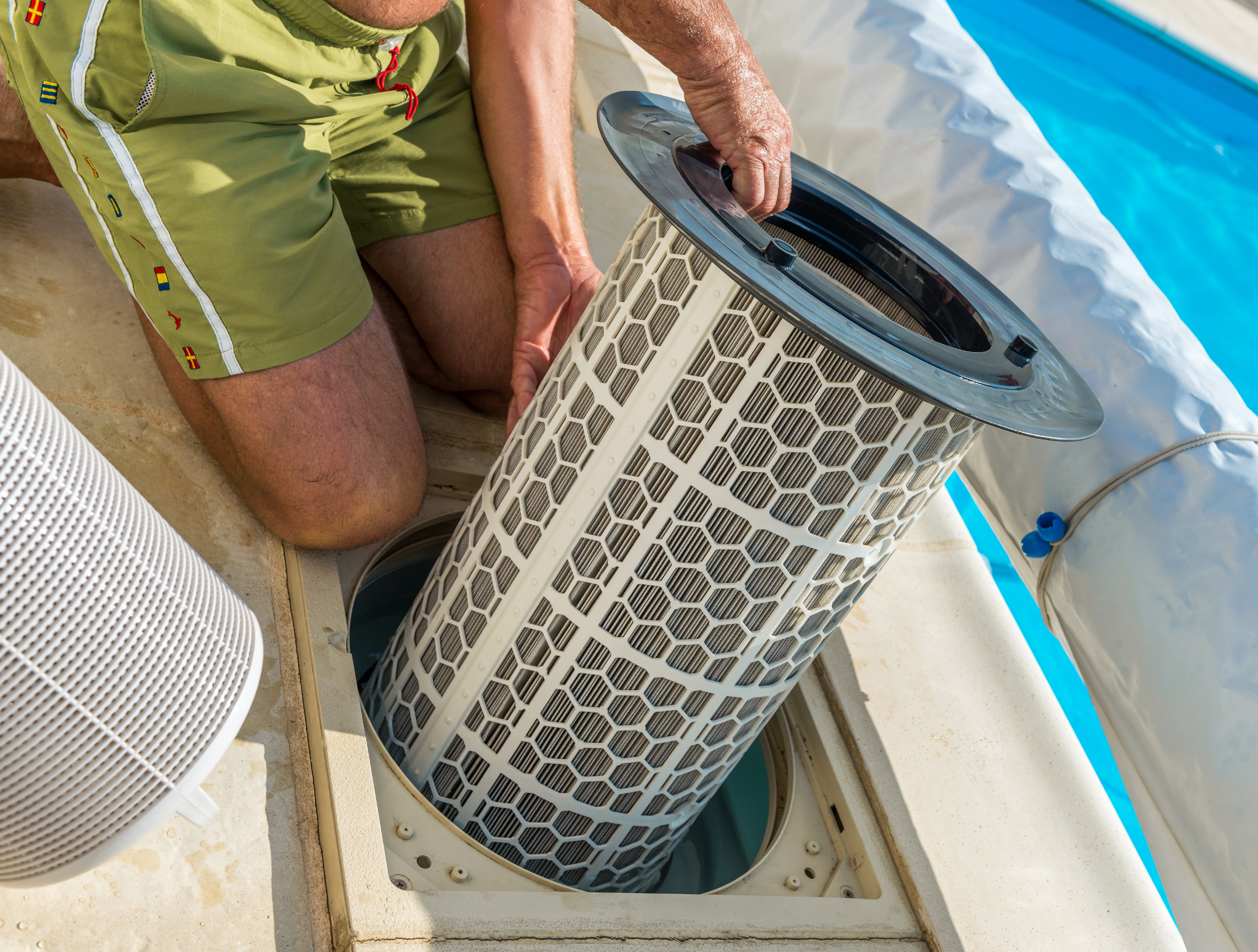 Swimming Pool Filter System Highly Reliable Warranted