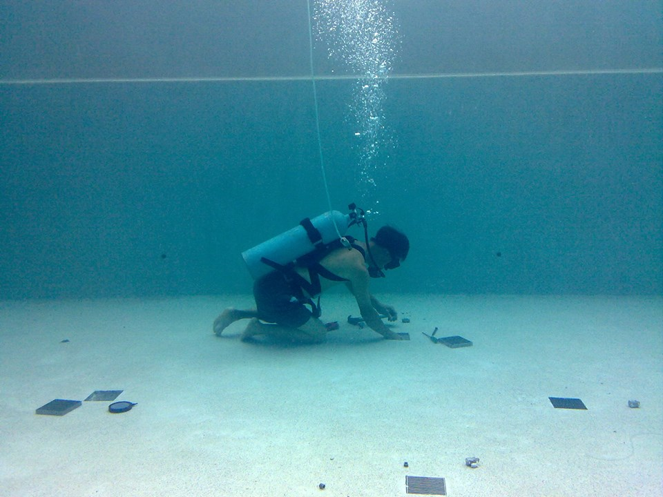 Underwater Swimming Pool Leak Repair
